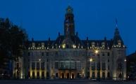 Het stadhuis aan de Coolsingel
