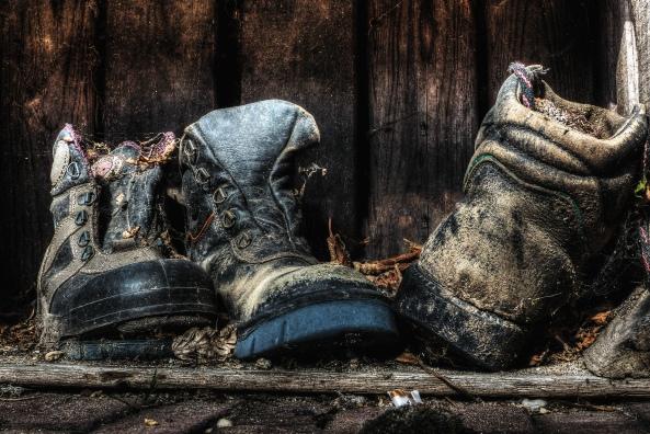 gooi geen oude schoenen weg psp 2